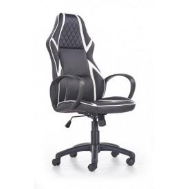 Кресло Halmar Dodger Черно-белый