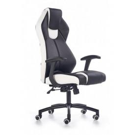 Кресло компьютерное Halmar Torano Черно-белый