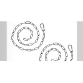 Ланцюжок з карабіном GEDA 200 см
