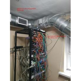 Монтаж вентиляції в приміщенні серверної