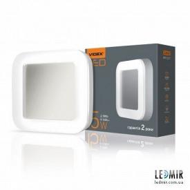 Світлодіодний ART світильник Videx квадрат 15W-5000K Білий