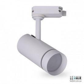 Трековий світлодіодний світильник Feron AL106 SMD 10W-4000K білий