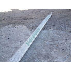 Профіль PVC кутовий з армуючою сіткою Valmiera 10х10 см 2,5 м