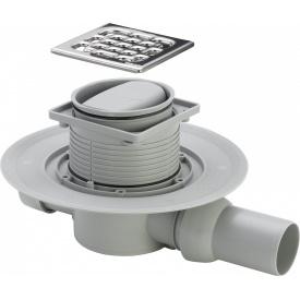 ADVANTIX трап для ванной сухой затвор горизонтальный D50