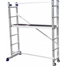 Сходи-поміст універсальна багатоцільова 2х6 ступенів