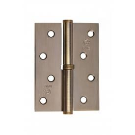 Петли стальные для межкомнатных дверей GR 100x75x2,5 мм, B1 (L/R)