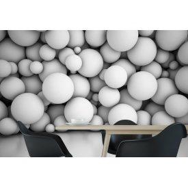 Фотообои 3Д стена из объемных воздушных шаров