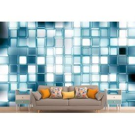 Фотошпалери 3Д скляна мозаїка