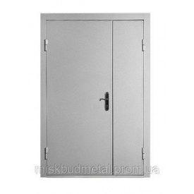 Дверь противопожарная Міськбудметал ДМП 21-12 EI30 2100х1200 мм