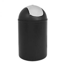 Ведро для мусора Trento Deco черный