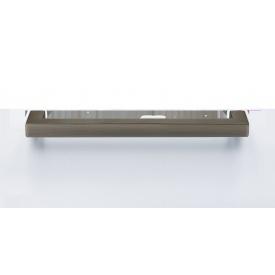 Ручка для мебели из нержавеющей стали MVM матовый антрацит длина 192 мм