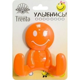 Крючок Trento двойной пластик