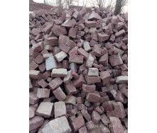 Бутовый камень 100-400 мм из гранита Лезники