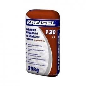 130 Klinker (25 кг) КREISEL - Смесь для кладки клинкерного кирпича