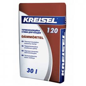 120 Dammortel (30 кг.) КREISEL - Термоизоляционная кладочная смесь