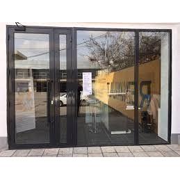 Раздвижные алюминиевые двери с замком Redwin Group