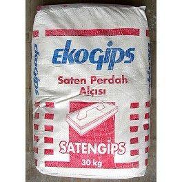 Шпаклівка гіпсова SAТENGIPS ЕКОГИПС 25кг Сатенгіпс
