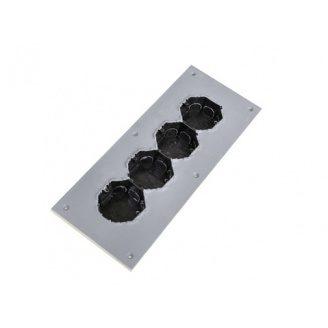 Підрозетник звукоізоляційний Ультракустик на 4 посади