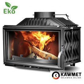 Камінна топка KAWMET W15 EKO 9,4 кВт 620х365х365 мм