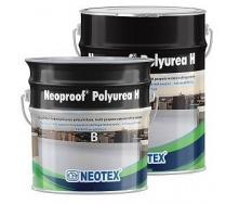 Эластомерное гидроизоляционное покрытие NEOPROOF POLYUREA H гибрид полимочевины и полиуретана
