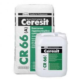 Эластичная гидроизоляционная смесь 2-х композиционная Ceresit-CR 66 25 кг
