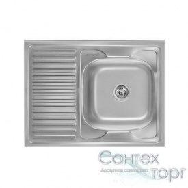 Мойка для кухни из нержавеющей стали толщина 0,8 мм Imperial 5080-R Satin