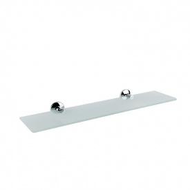 Полка для ванной стеклянная 52x12 см GF Italy (CRM)/S- 2807