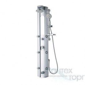 Душова панель Q-tap QT-1101 SIL срібна