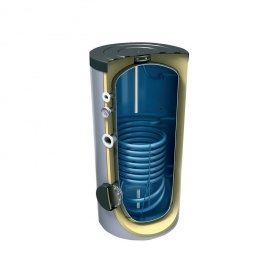 Бойлер косвенного нагрева электрический Tesy, напольный, один т/о на 200 л. 0,96 кв. м (EV9S 200 60 F40 TP)