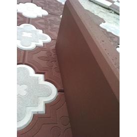 Бордюр поребрик 500x200x40 коричневый