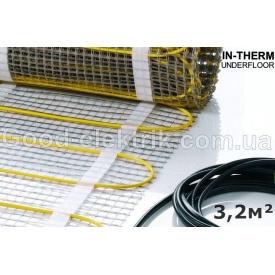 Електрична підлога під плитку 3,2 м2 IN-THERM