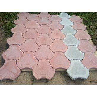 Тротуарна плитка вібролита Роккі 40 мм сіра