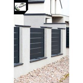 Забор Ранчо Side металл 0,5 мм 3000 мм