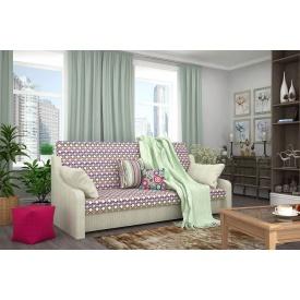 Прямой диван Виктория из ткани 1 категории с ППУ