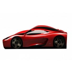 Ліжко-машинка Ferrari 777 Бренд 70x150 без підйомного механізму основою з ДСП без ящиків червоний