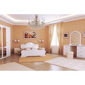 Спальня Футура Gloss White 160x200 без каркасу