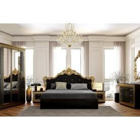Спальня Дженніфер Gloss Black 160x200 без каркасу