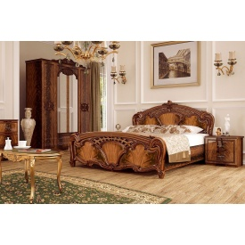 Спальня Олімпія Nut 160x200 без каркасу