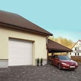 Роллетные ворота ALUTECH Trend 2400х2100 мм