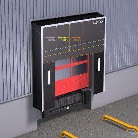 Герметизатор проема ALUTECH DSF 3400x3400 мм
