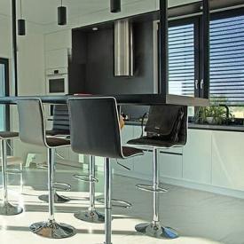 Автоматическая роллетная решетка на окна ALUTECH 1400x1500 мм