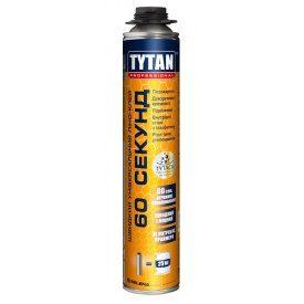 Быстрый многоцелевой пено-клей TYTAN Professional 60 секунд GUN 750 мл