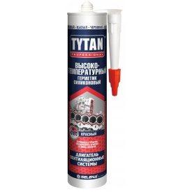 Герметик силиконовый высокотемпературный TYTAN Professional 310 мл красный