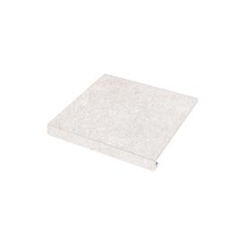 Ступенька Concrete 345x300x35x10,2 bianco SZRXRM 1 RC ZEUS CERAMICA
