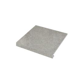 Ступень угловая П-под левая Concrete 345x300x35x10,2 grigio SZRXRM 8 RC 1 ZEUS CERAMICA