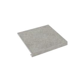 Ступень угловая П-под права Concrete 345x300x35x10,2 grigio SZRXRM 8 RC 2 ZEUS CERAMICA