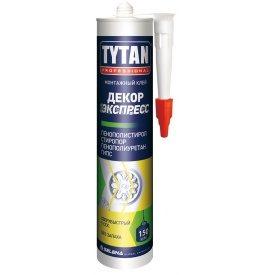 Клей монтажний TYTAN Professional Декор Експрес 310 мл білий