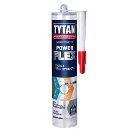 Клей-герметик TYTAN Professional Power Flex на основі МС-полімерів 290 мл прозорий