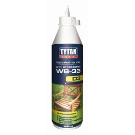 ПВА-клей для деревини TYTAN Professional Д3 500 г білий