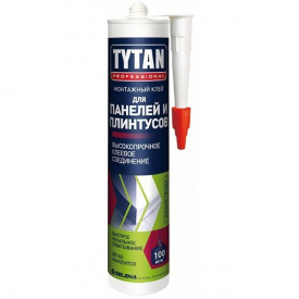 Клей монтажный TYTAN Professional Панели и Молдинги 310 мл бежевый